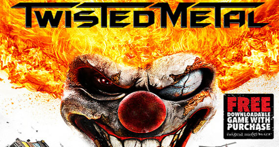 Twisted Metal to Include a Download Voucher for Twisted Metal Black