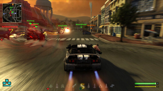 Twisted Metal Review Special Weapon Gameplay