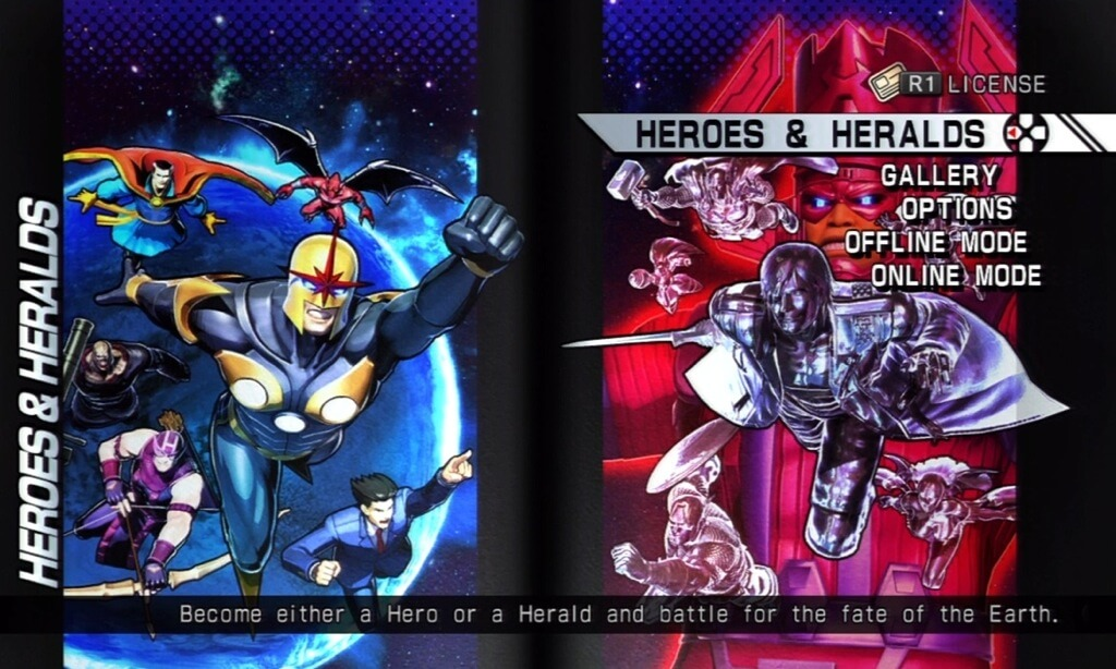 'Ultimate Marvel Vs. Capcom 3's' Heroes & Heralds Mode Now Available
