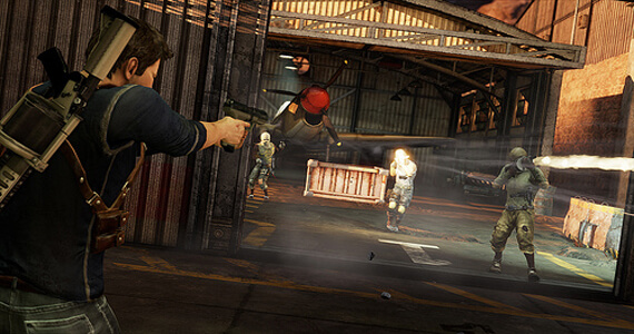 Uncharted 3 Beta Three Team