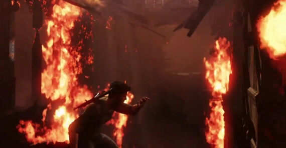 Uncharted 3 Fire Effects