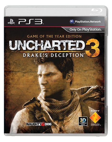 Uncharted 3 Game of the Year Edition Box Art