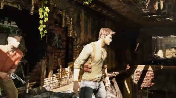 Uncharted 3 Gameplay Videos Chateau