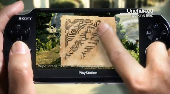 Uncharted NGP Touch Screen Gameplay