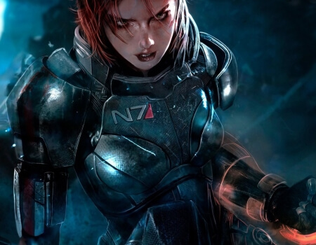 Video Game Armor Mass Effect