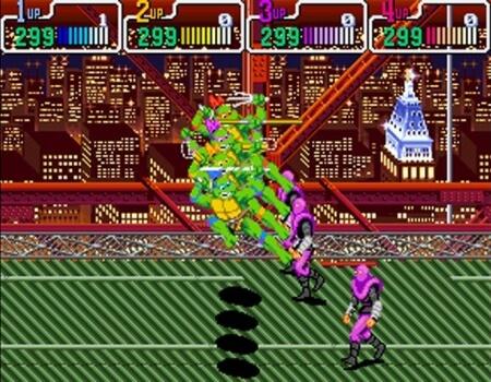 Video Game Brothers Ninja Turtles