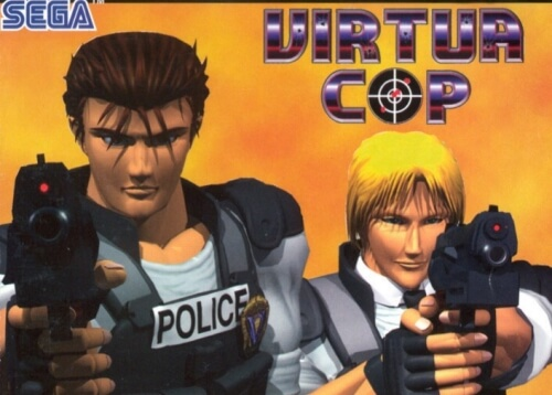 Virtua Cop Sega Saturn