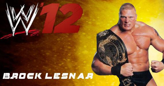 Brock Lesnar in WWE '12