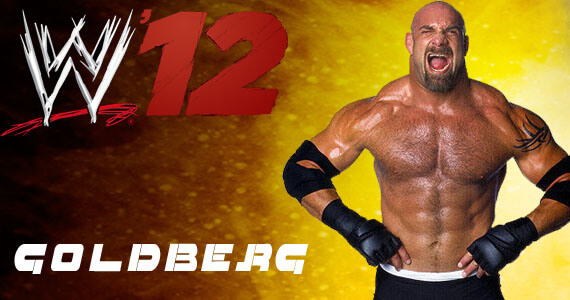 Goldberg in WWE '12