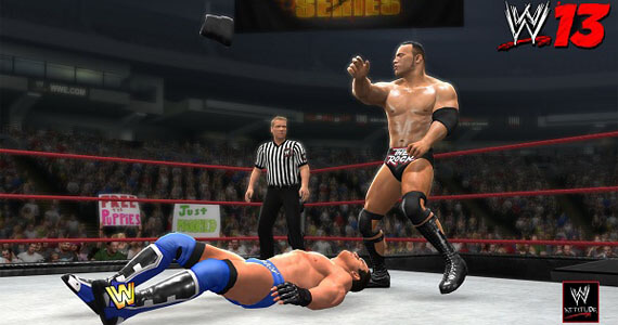 You Can Smell What The Rock is Cooking in This 'WWE 13' Trailer