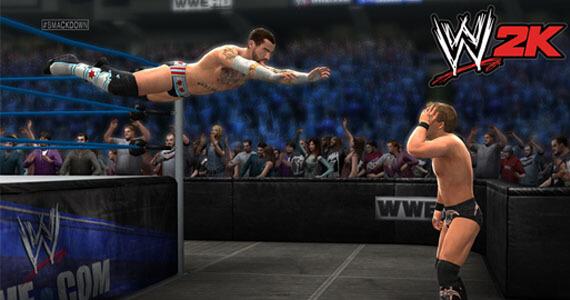 WWE 14 2K Games