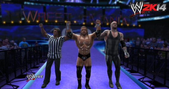'WWE 2K14' 'WrestleMania Mode' Match List
