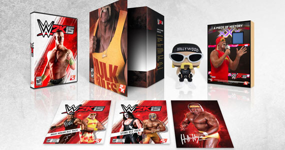WWE 2K15 Hulkamania Collector's Edition