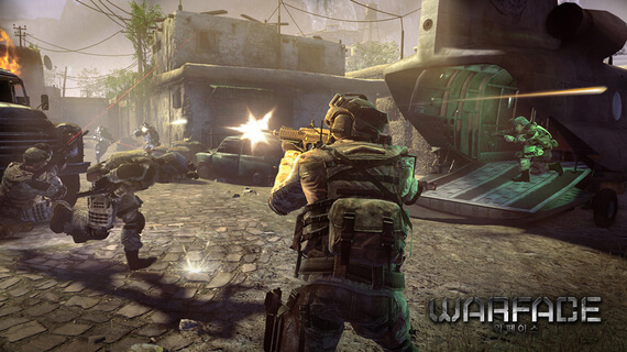 Crytek Unveils Warface
