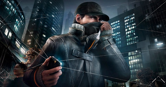 'Watch Dogs' - Aiden Pearce with face mask