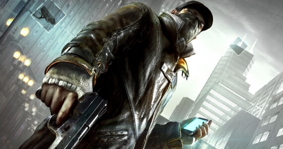 Watch Dogs Game Box Art