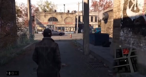 Watch Dogs Open World Gameplay Video