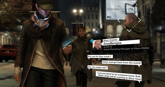 'Watch Dogs' announced for the Xbox One