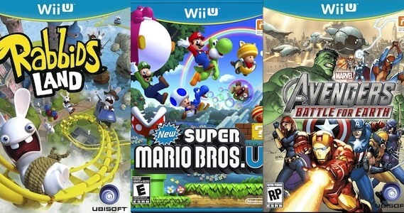Prices for Wii U Games and Pro Controller Revealed