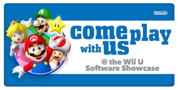 Nintendo Announces Wii U Software Showcase for E3 2013