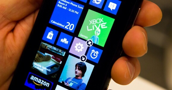 Windows Phone 8 delay iphone