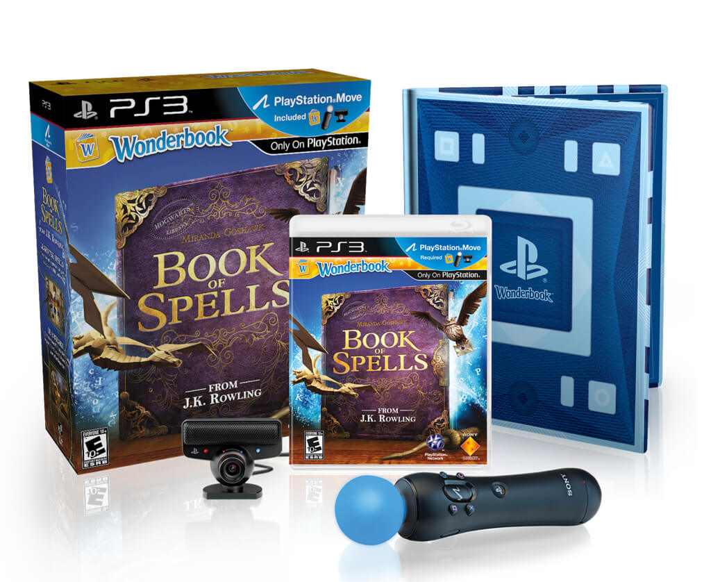 Sony Reveals Wonderbook Release Date & Move Bundle