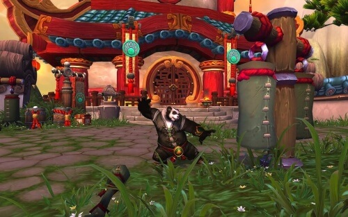 World of Warcraft Mists of Pandaria Panda Punching Bag Blizzard