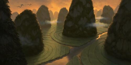 World of Warcraft Mists of Pandaria Spiral Fields Blizzard