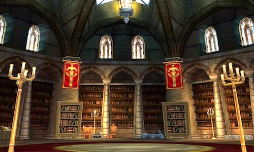 World of Warcraft- library