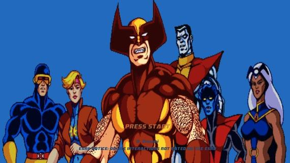 X-Men Arcade Review