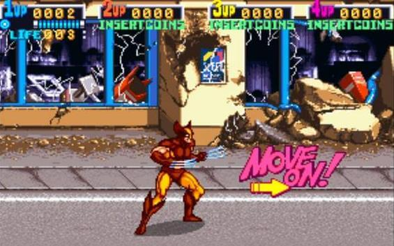 'X-Men: The Arcade Game' Coming to XBLA and PSN
