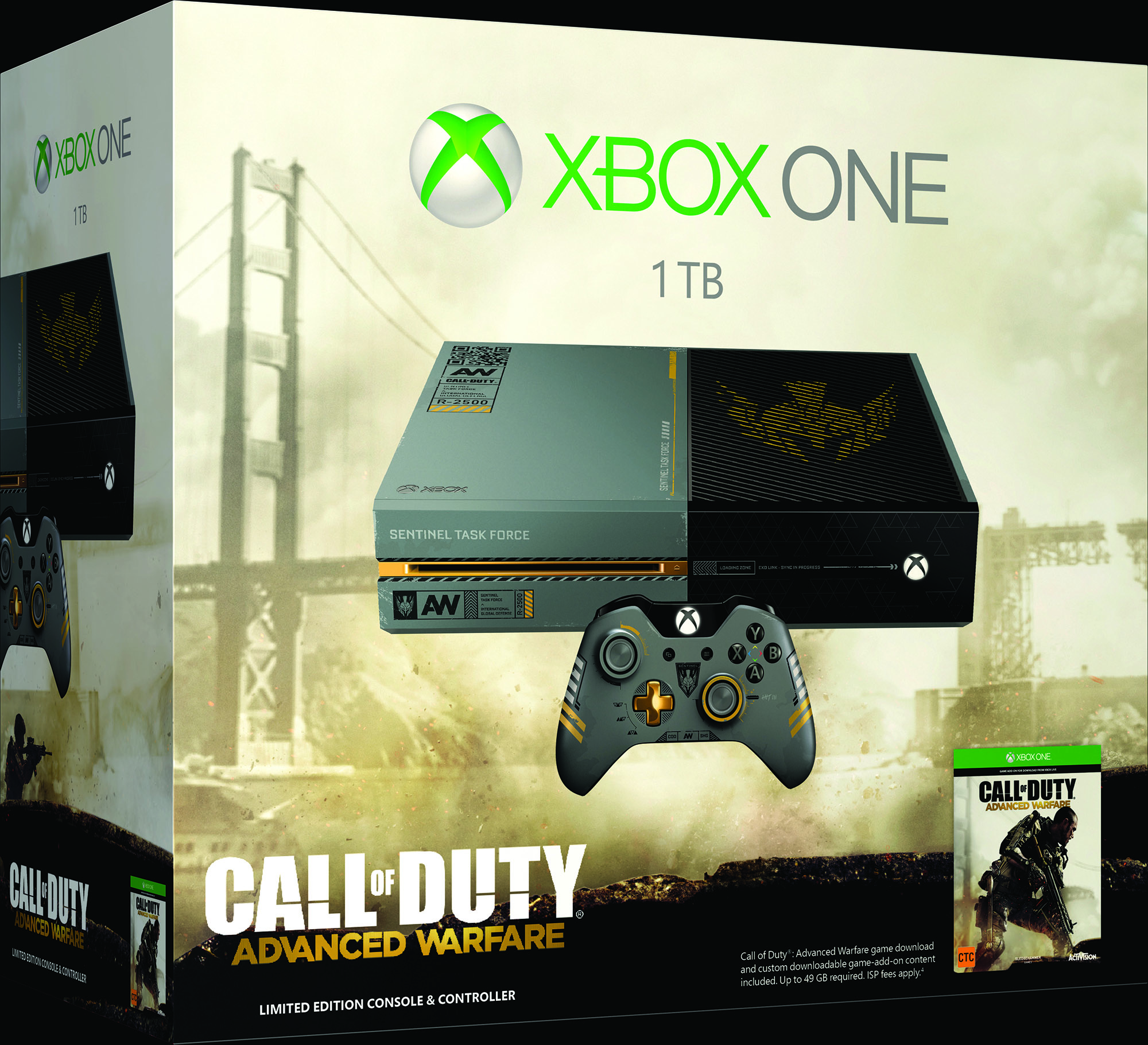 'Call of Duty' & 'Sunset Overdrive' Xbox One Bundles ...
