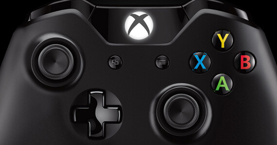 Xbox One Controller Buttons Close-up