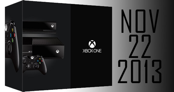 Official Xbox One Release Date is on November 22, 2013