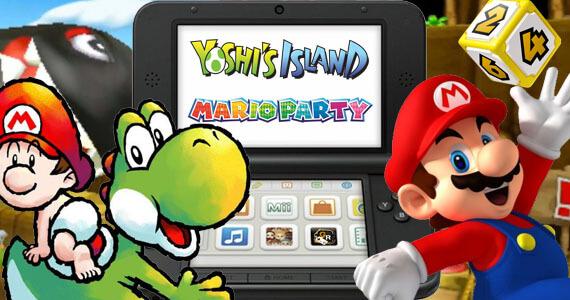 'Yoshi's Island' & 'Mario Party' Crashing onto Nintendo 3DS