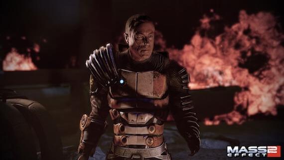 Zaeed in Mass Effect 2