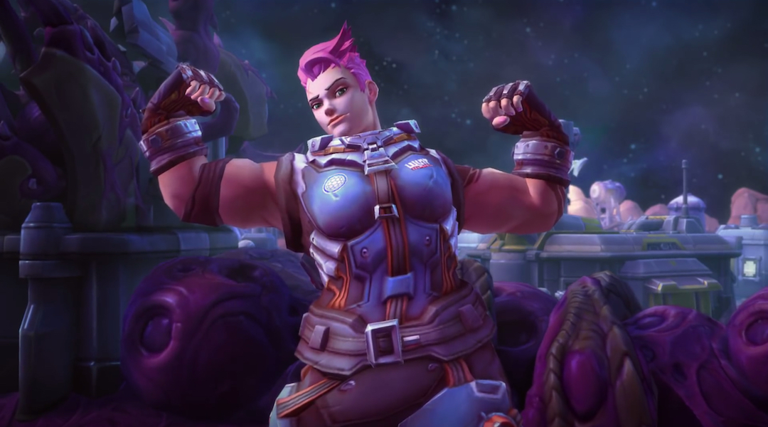 Heroes of the Storm Adds Overwatch's Zarya to the Roster