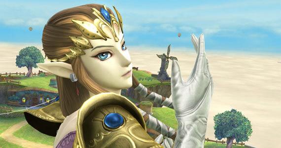 Zelda Super Smash Bros for Wii U
