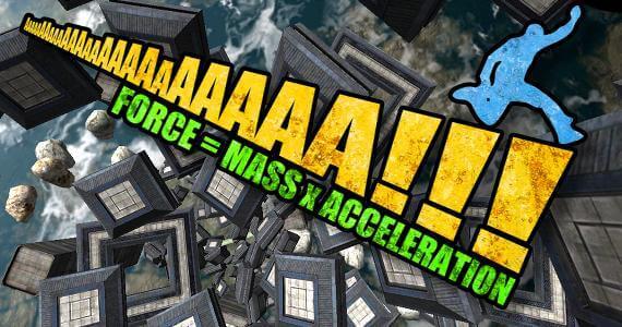'AaaAAa!! Force = Mass x Acceleration' Review