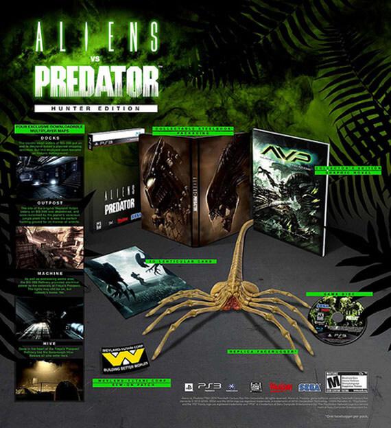 Aliens vs Predator Aliens-vs-predator-hunter-edition-collectors