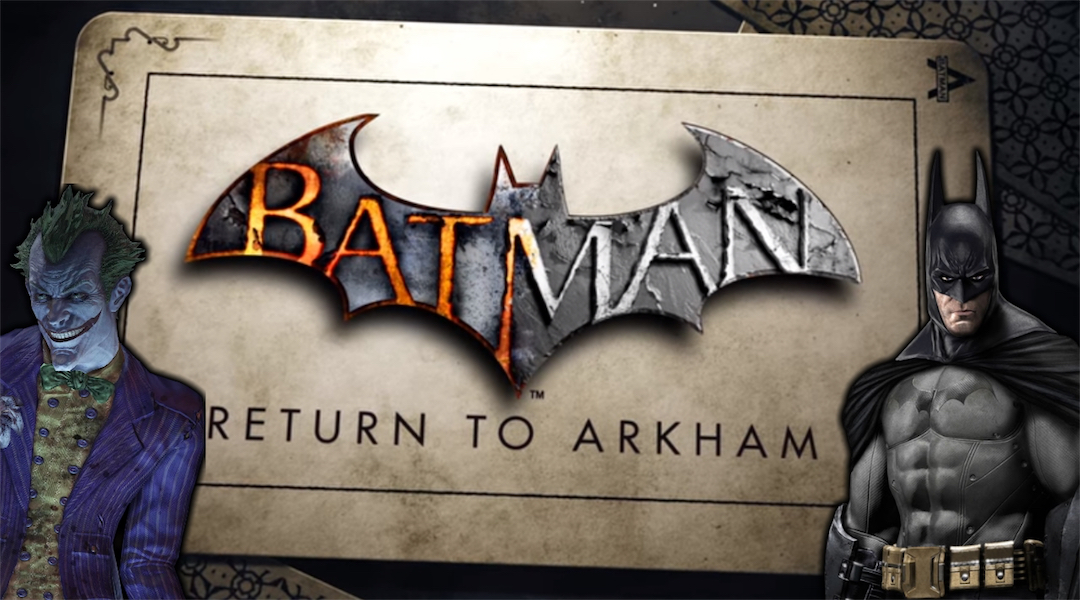 Batman: Return to Arkham Graphics Comparison Video Releases