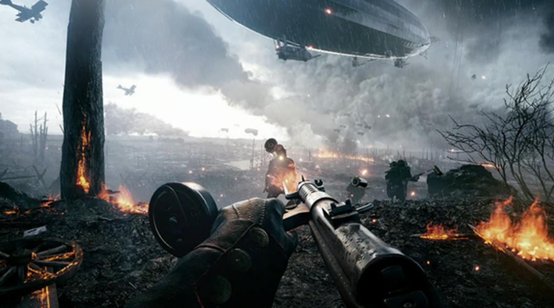 Battlefield 1 Player Shows Off Impressive Zeppelin Takedown