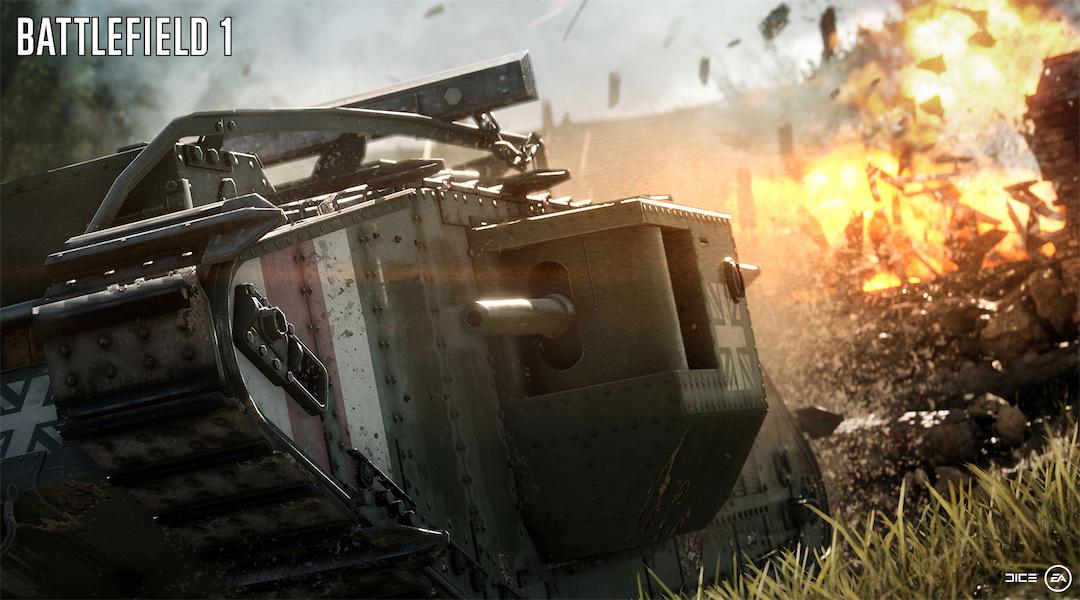Battlefield 1 Player Base Doubled Battlefield 4 at Launch
