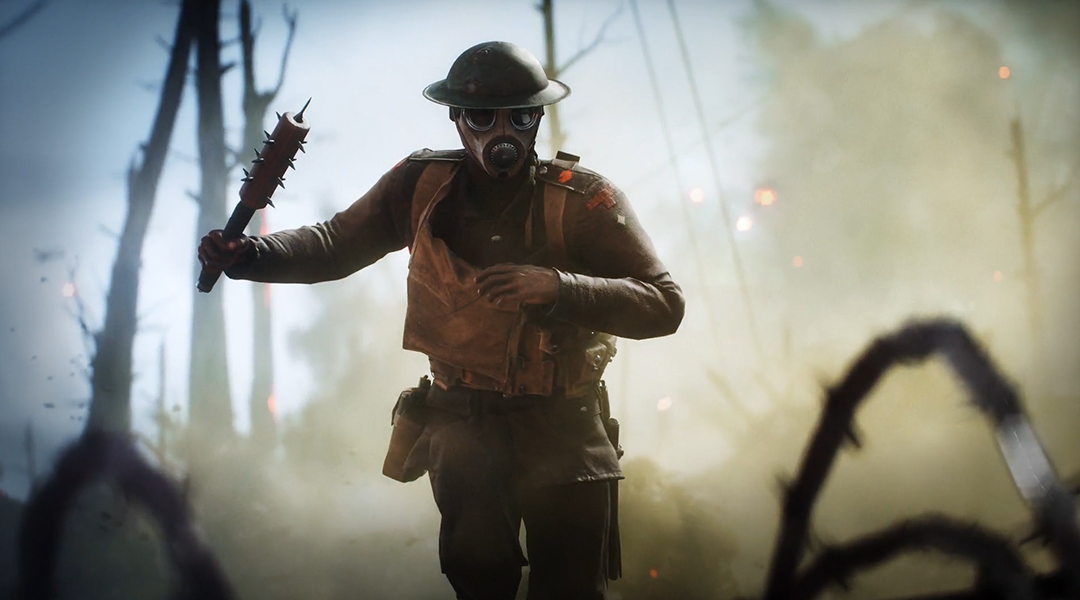 Battlefield 1 Video Discusses the Changes to Melee Combat