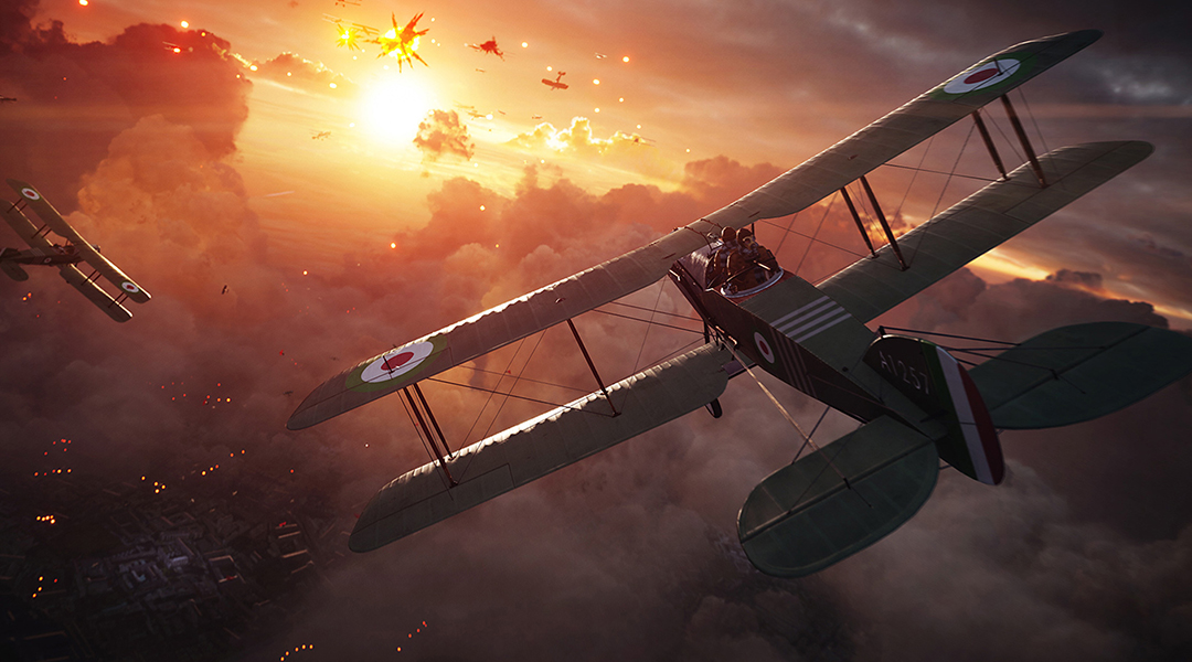 Battlefield 1 Player Defies Gravity for Awesome Airplane Kill