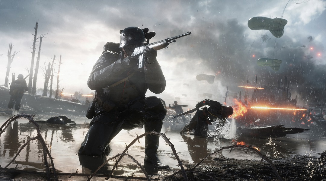 Battlefield 1 Guide: How to Level Up Fast - Battlefield 1 trench warfare