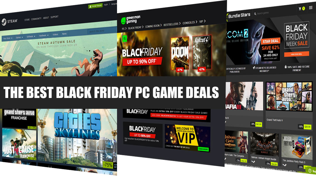 The Best PC Digital Game Sales for Black Friday 2016