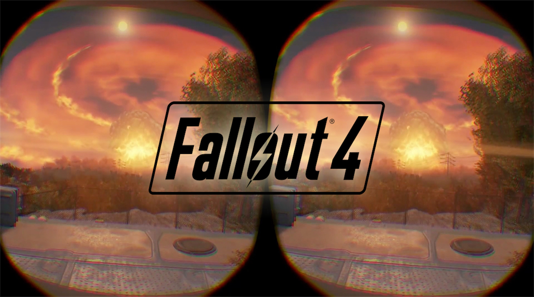 Fallout 4 VR is the 'Whole Game', Promises Bethesda