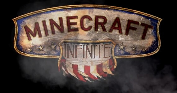 'BioShock Infinite' Mapped Out in Minecraft and a New Board Game
