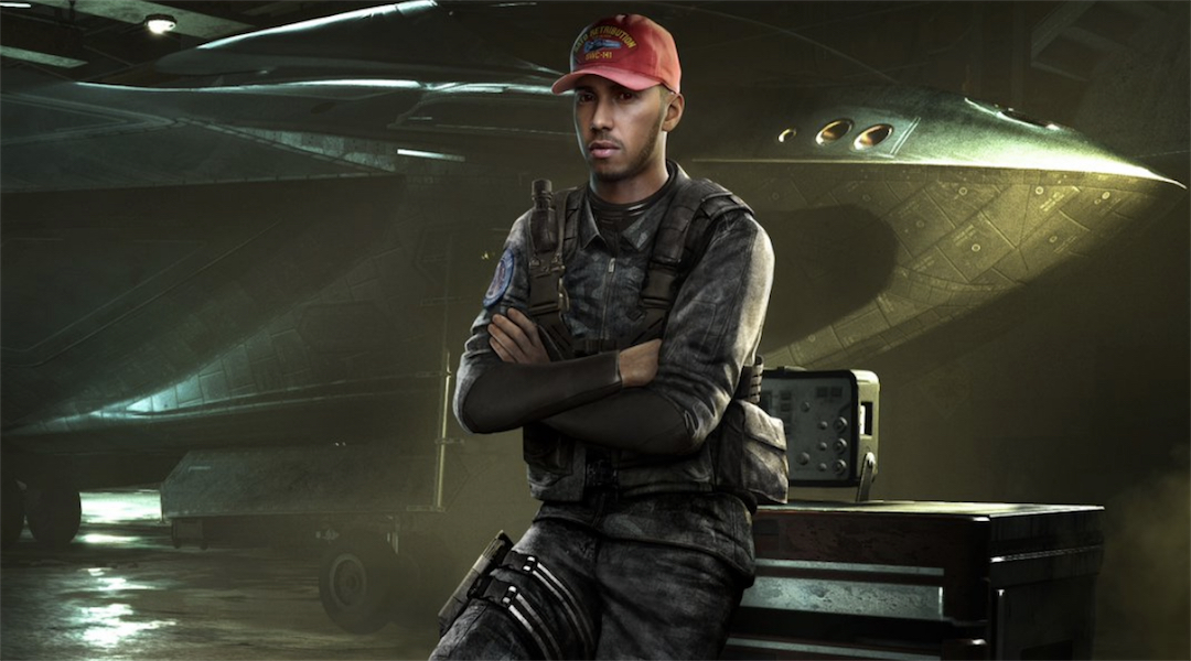 Call of Duty: Infinite Warfare to Feature F1 Racer Lewis Hamilton